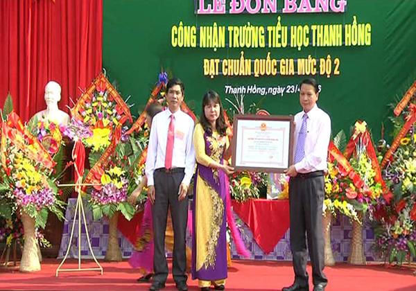 Truong tieu hoc Thanh Hong don chuan 2016 1